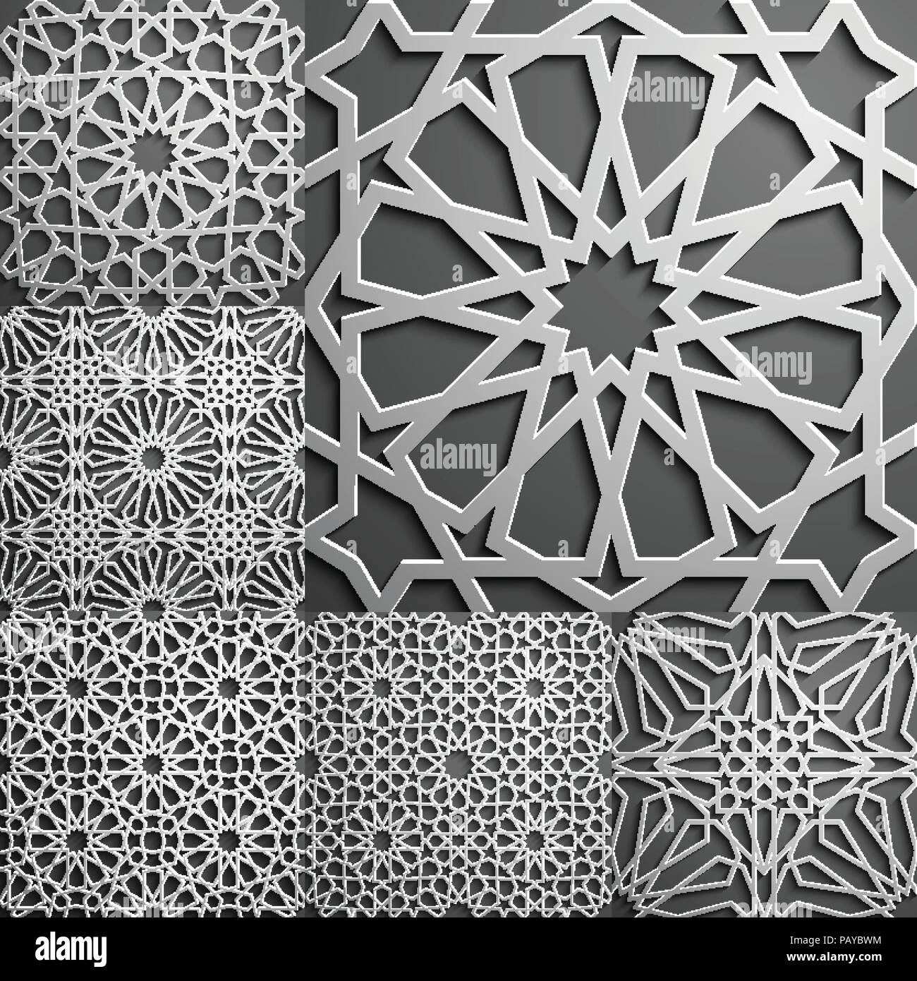 islamic pattern seamless arabic geometric pattern east ornament indian ornament persian motif 3d endless texture can be used for wallpaper pattern fills web page background PAYBWM