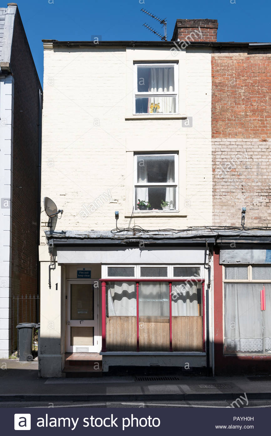 East Street, Warminster, Wiltshire, England, UK. - Stock Image