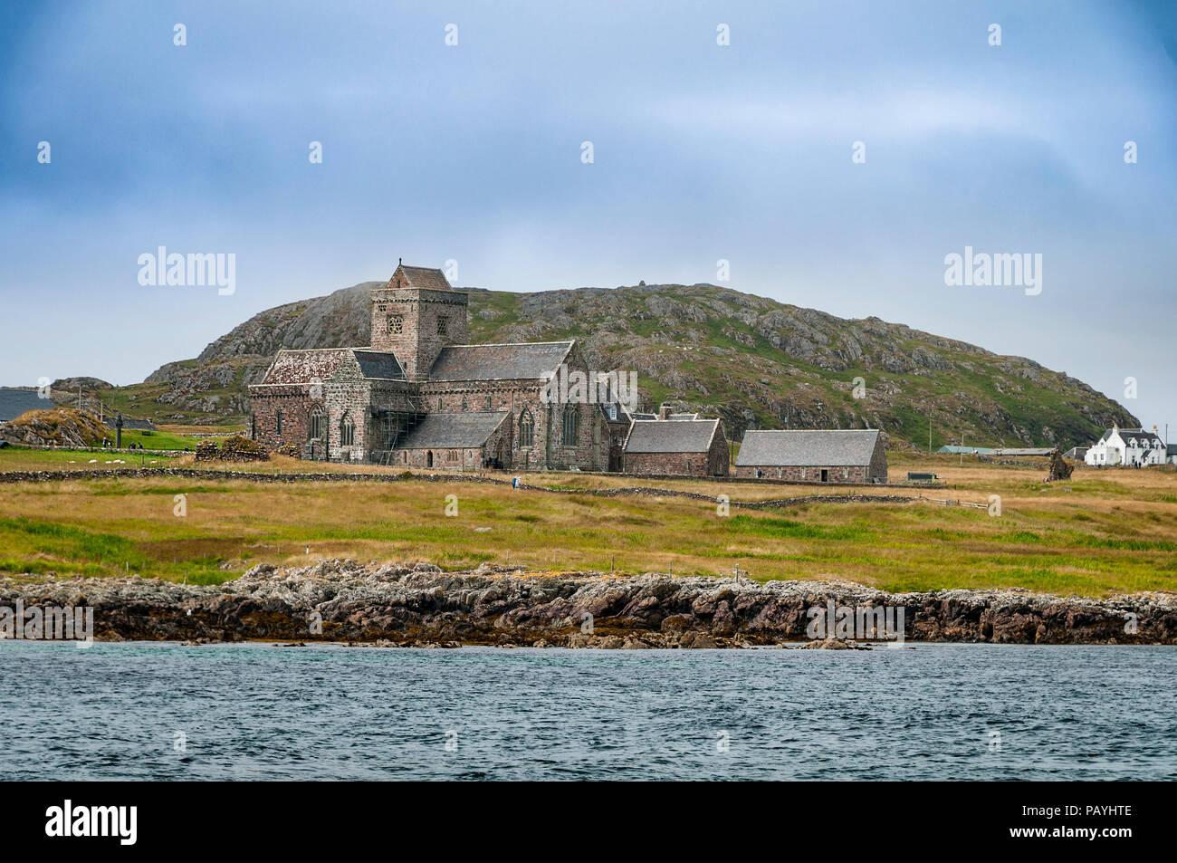 The island of Iona. Argyll. Scotland. - Stock Image