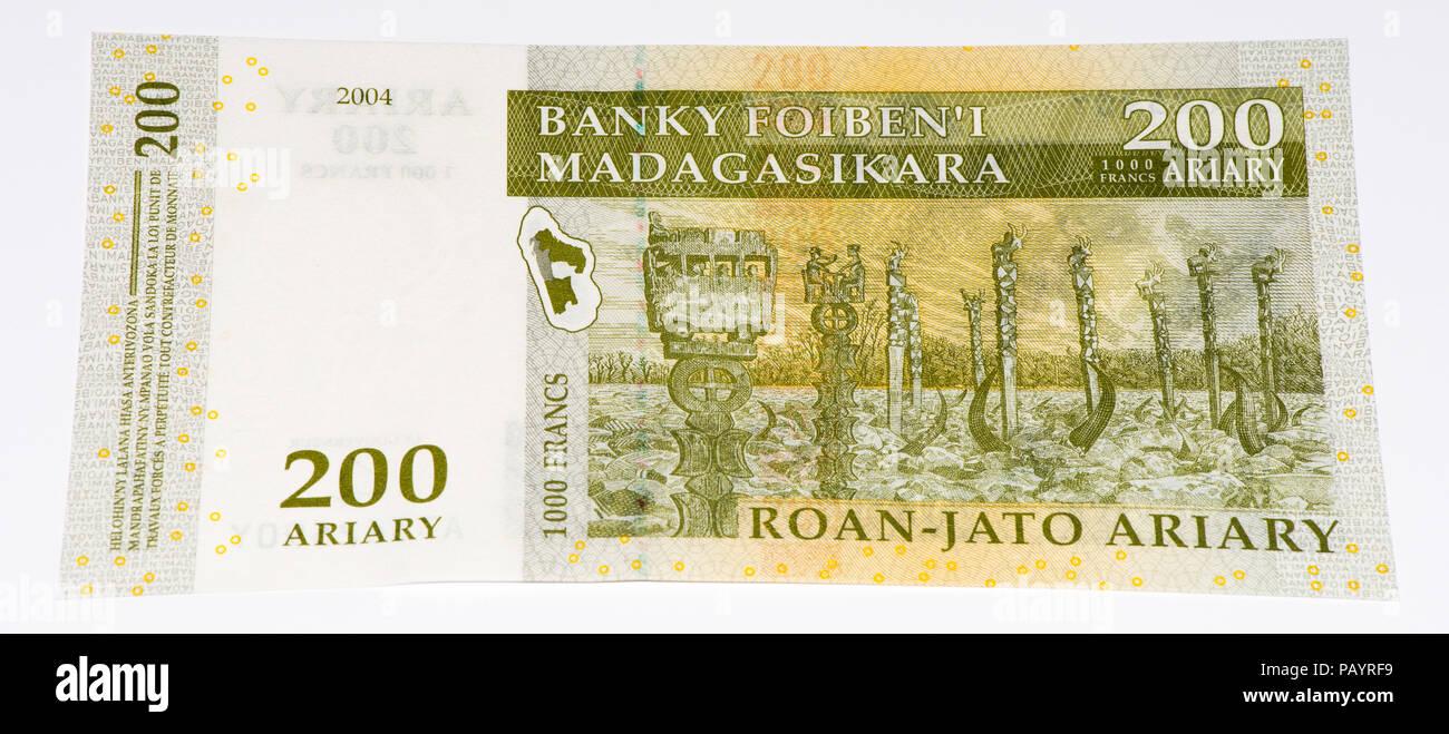 Currency Madagascar Ariary Stock Photos Currency Madagascar Ariary