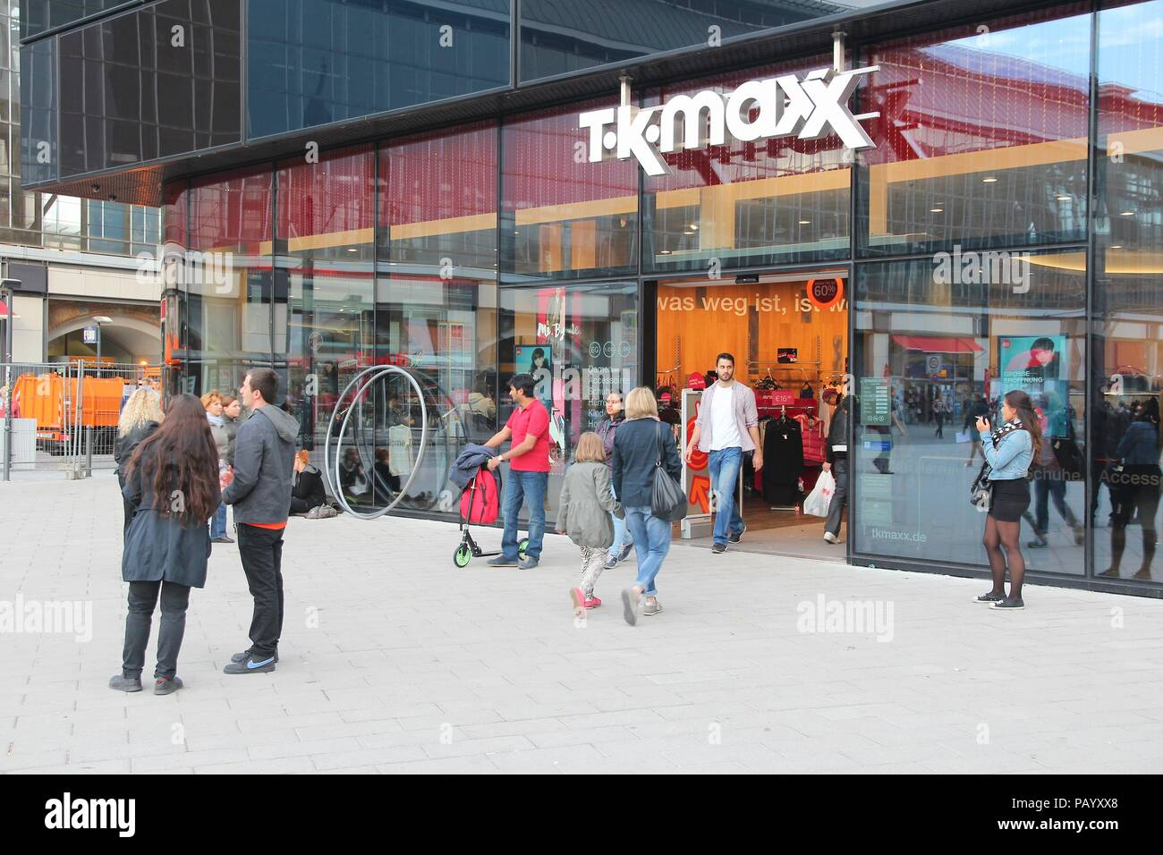 tk maxx shop store stock photos tk maxx shop store stock. Black Bedroom Furniture Sets. Home Design Ideas