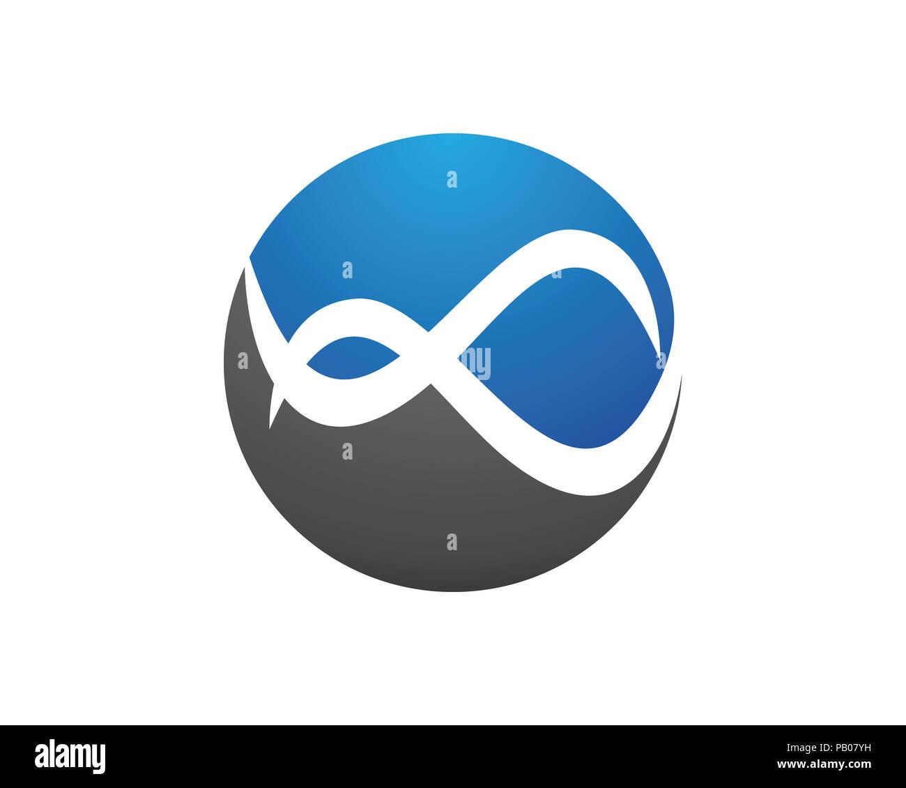 Infinity Design Infinity Logo Vector Logo Template Stock Photo