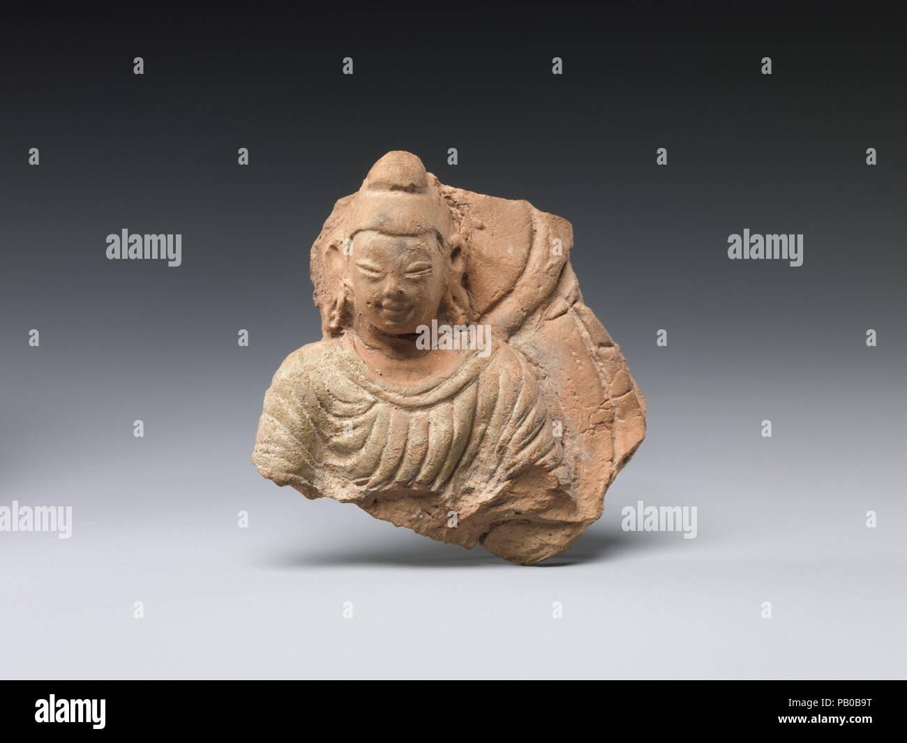 Buddha with Halo and Mandorla  Culture: China (Xinjiang