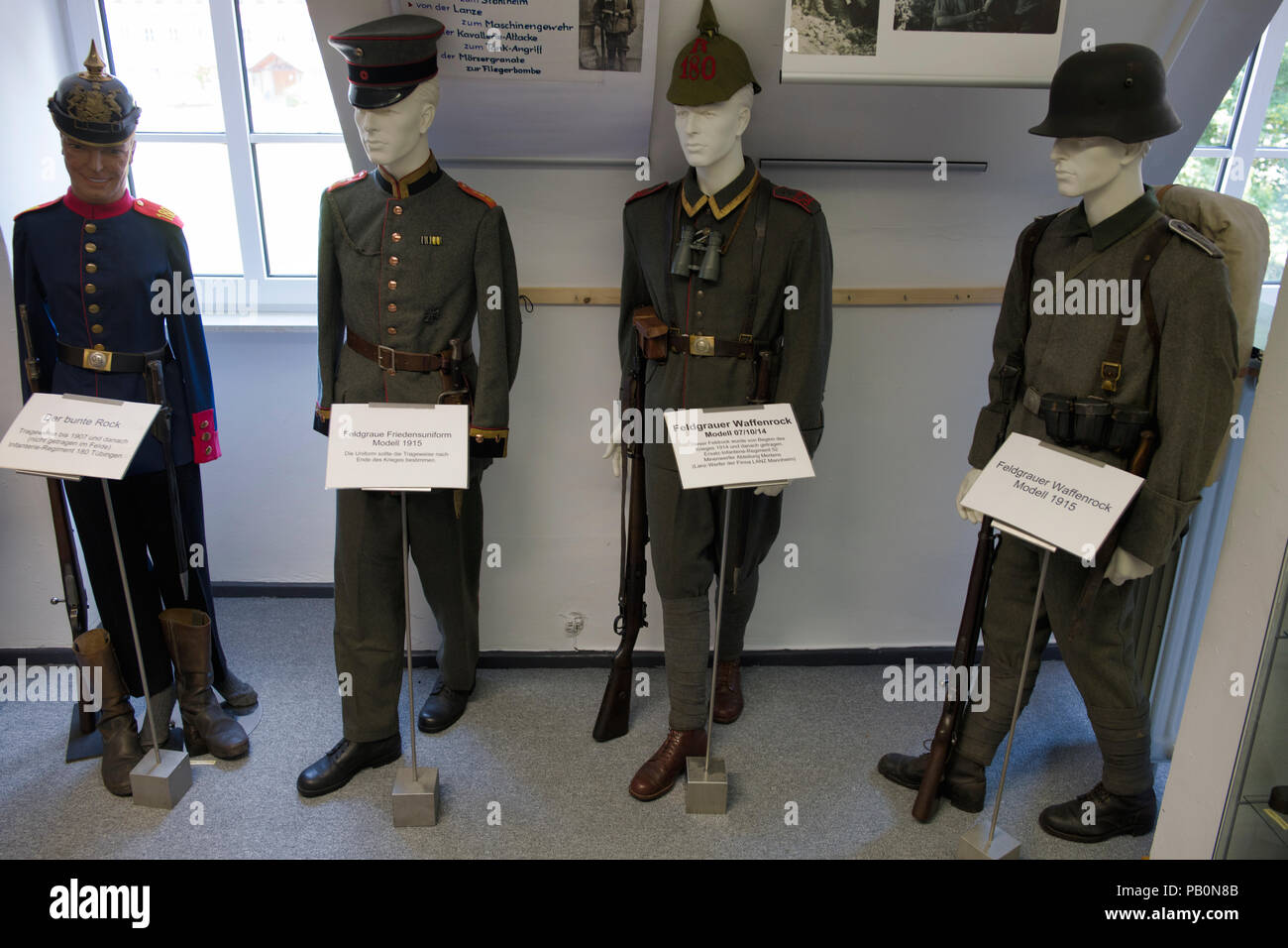 Military History Museum, Engstingen-Haid, Baden-Württemberg, Germany - Stock Image