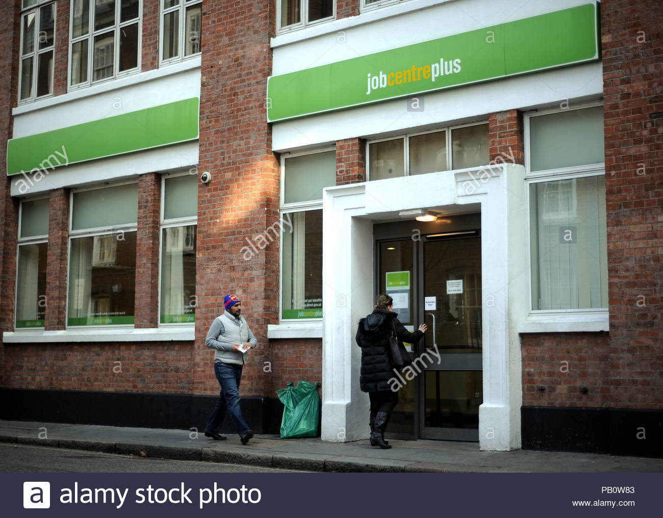 Embargoed to 0001 Thursday July 26 File photo 20/02/13 of a job centre plus. 700 adults surveyed by jobs site Glassdoor said that commuting time has become one of the top considerations for jobseekers. Stock Photo