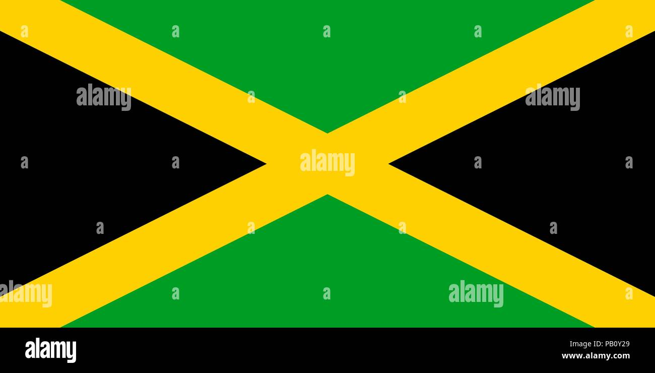 Flag Of Jamaica Symbol Of Independence Day Souvenir Sport Game