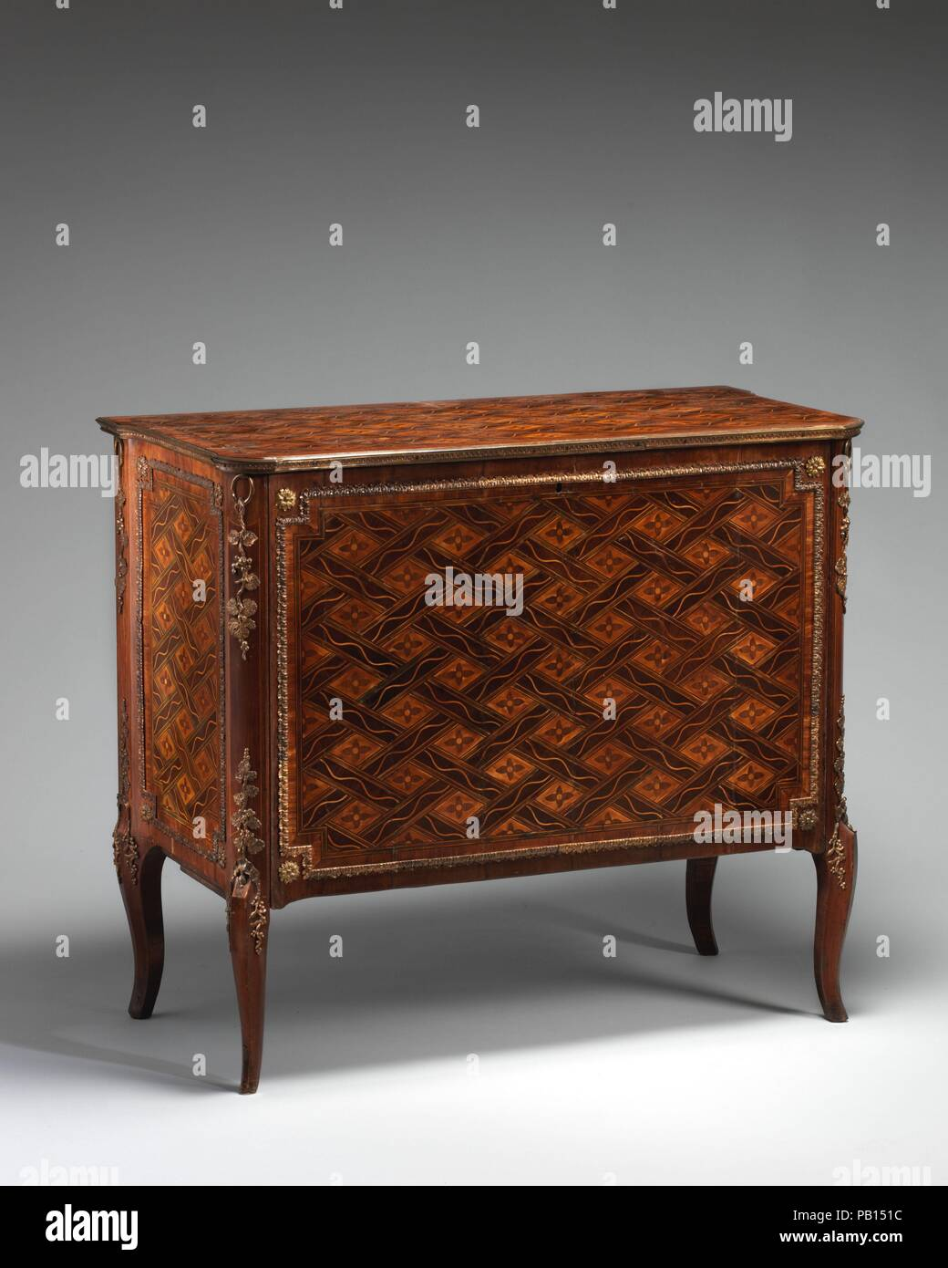 Commode (one of a pair) (part of a set). Culture: British ...