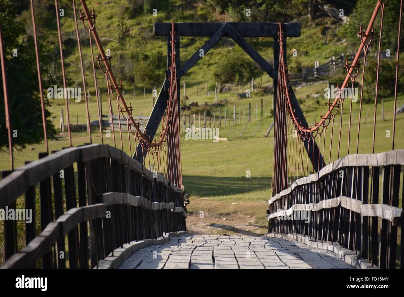 Puente Colgante Stock Photos & Puente Colgante Stock