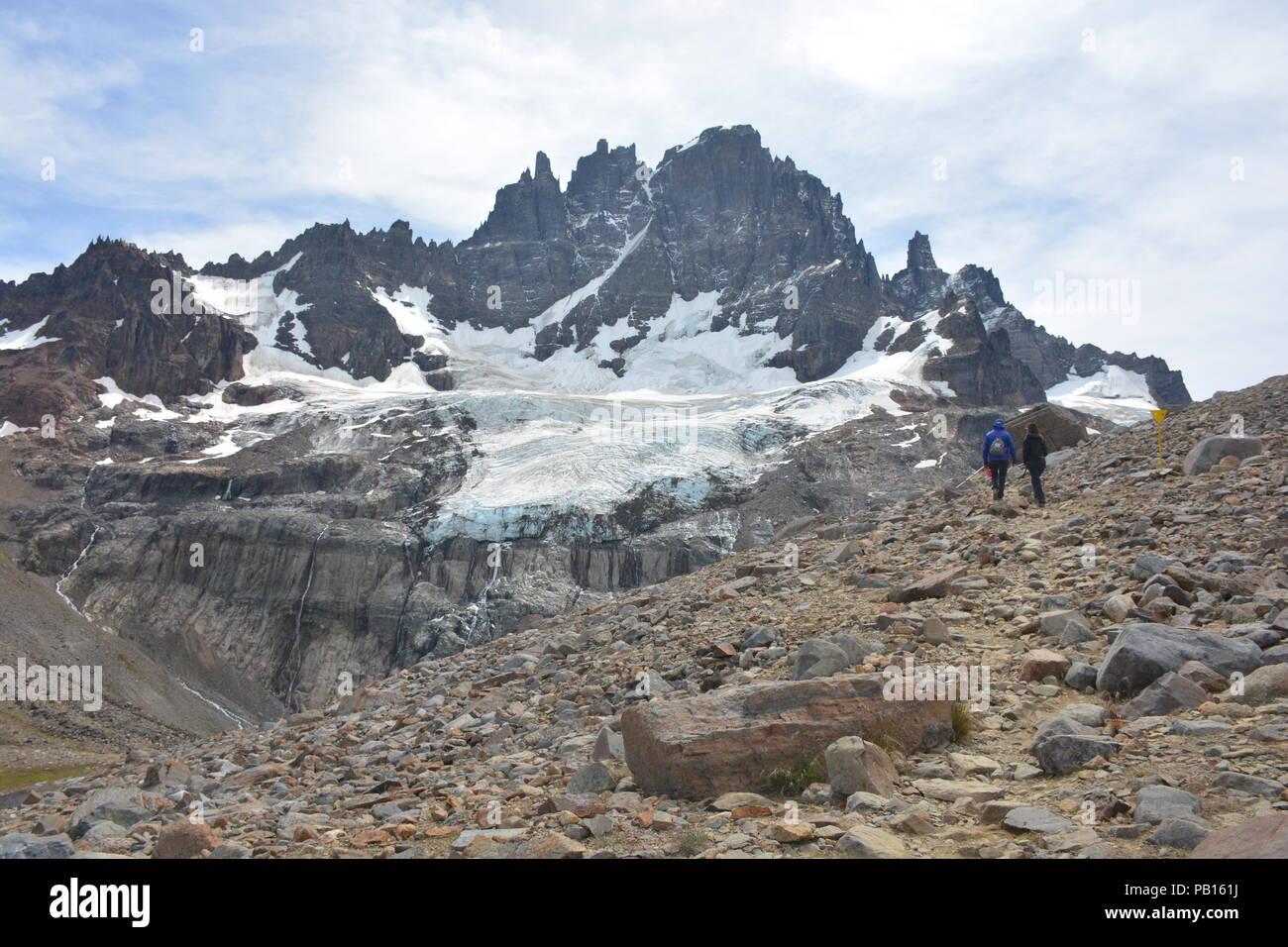 Cerro Castillo, Patagonia, Carretera Austral, Chile - Stock Image