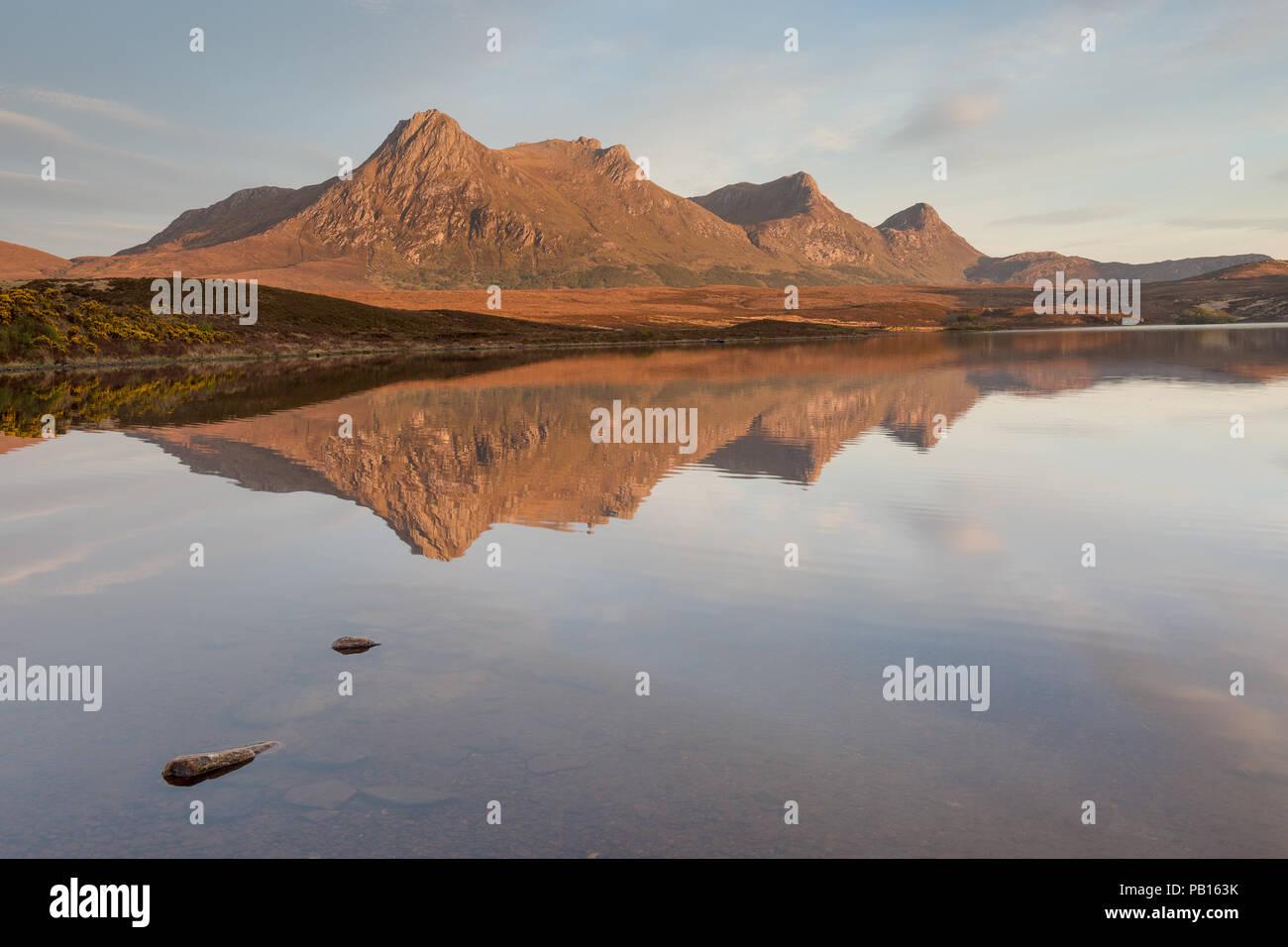 Ben Loyal Sunset - Stock Image