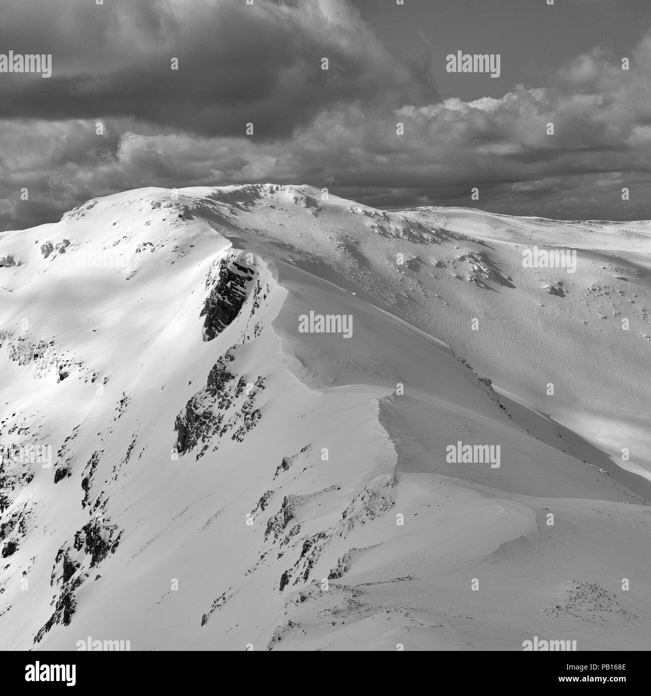 Conical from Ben More Assynt - Stock Image
