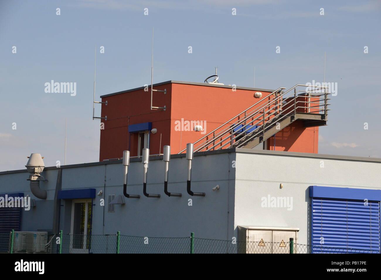 d8e8d7d338 goerlitz saxony germany 2018 deutscher wetterdienst wetterwarte German  weather service weather station - Stock Image