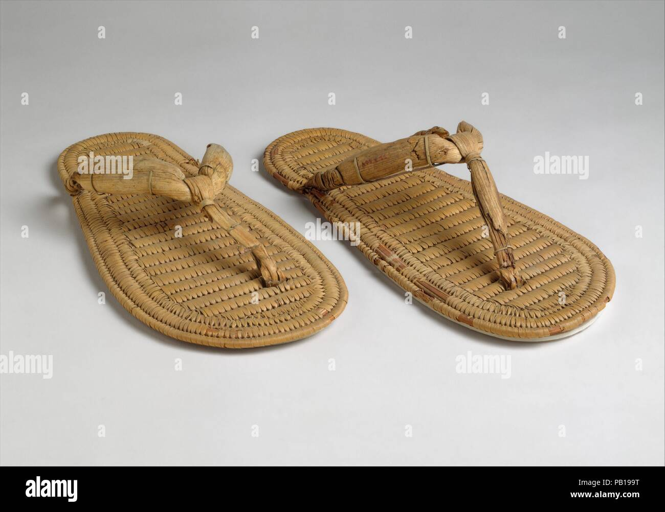 ae18e44b88022 Pair of Sandals. Dimensions  Right  L. 28.7 × W. 12.8 cm (11 5 16 × 5 1 16  in.)  Left  L. 28.3 × W. 12.6 cm (11 1 8 × 4 15 16 in.). Dynasty  Dynasty  17-18.