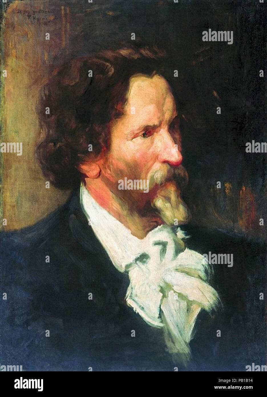 Ilya Repin: historical paintings, portraits, ceremonial canvases 81