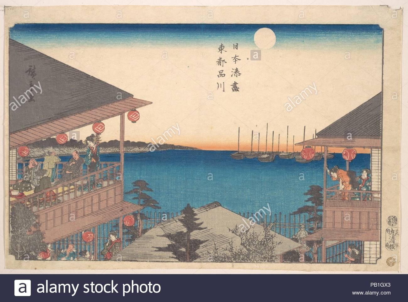 Toto, Shinagawa. Artist: Utagawa Hiroshige (Japanese, Tokyo (Edo ...