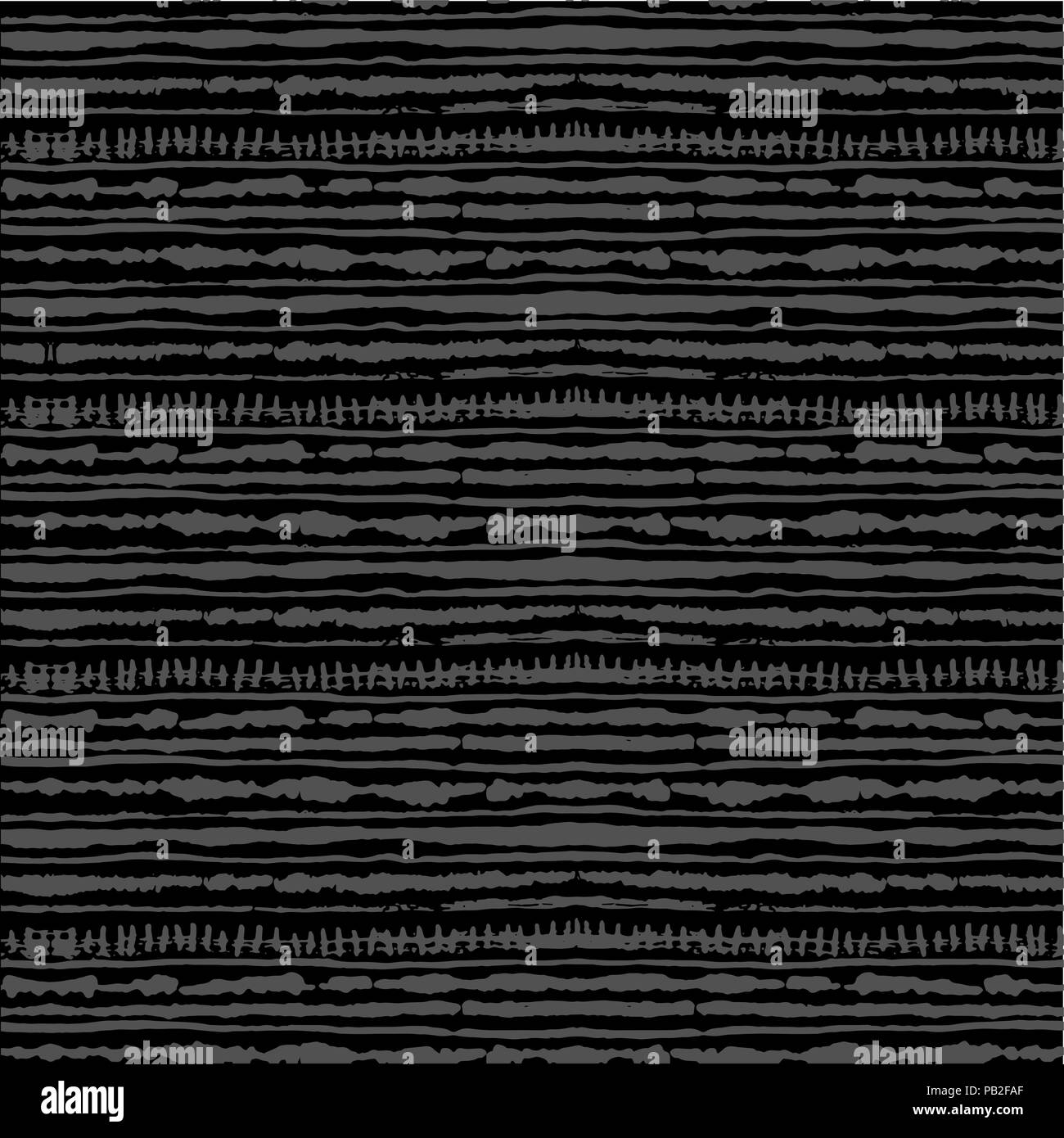 Seamless vector shibori tie-dye pattern of grey color  Hand