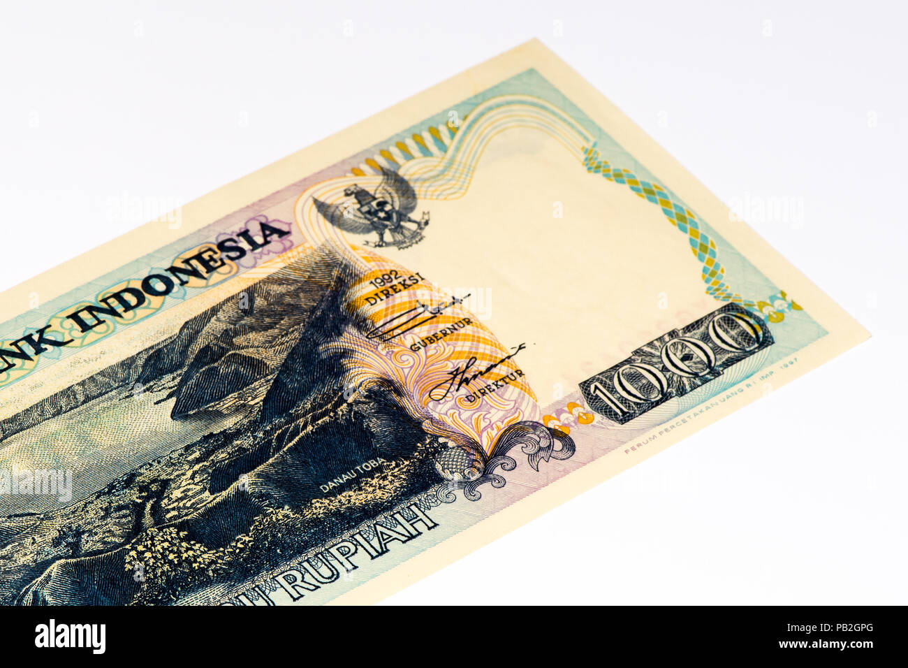 1000 Rupiah Bank Note Rupiah Is The National Currency Of Indonesia