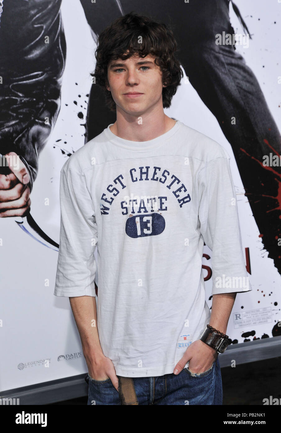 Charlie McDermott   - NINJA ASSASSIN Premiere at GraumanÕs Chinese Theatre In Los Angeles.Charlie McDermott_35 Red Carpet Event, Vertical, USA, Film Industry, Celebrities,  Photography, Bestof, Arts Culture and Entertainment, Topix Celebrities fashion /  Vertical, Best of, Event in Hollywood Life - California,  Red Carpet and backstage, USA, Film Industry, Celebrities,  movie celebrities, TV celebrities, Music celebrities, Photography, Bestof, Arts Culture and Entertainment,  Topix, vertical, one person,, from the years , 2006 to 2009, inquiry tsuni@Gamma-USA.com - Three Quarters - Stock Image