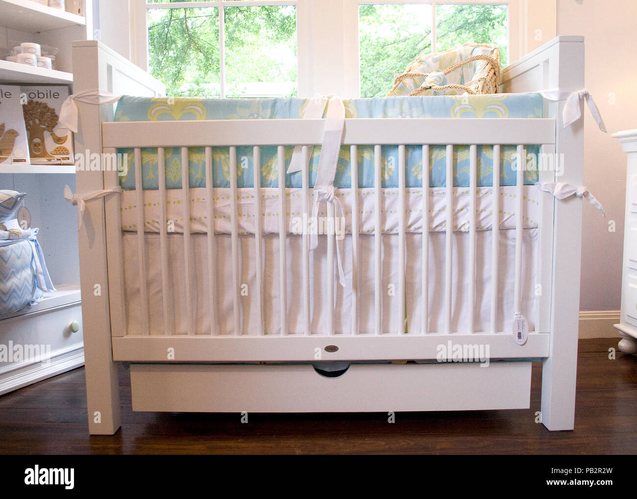 Unique View Of Baby Crib Stock Photos & Unique View Of Baby ...