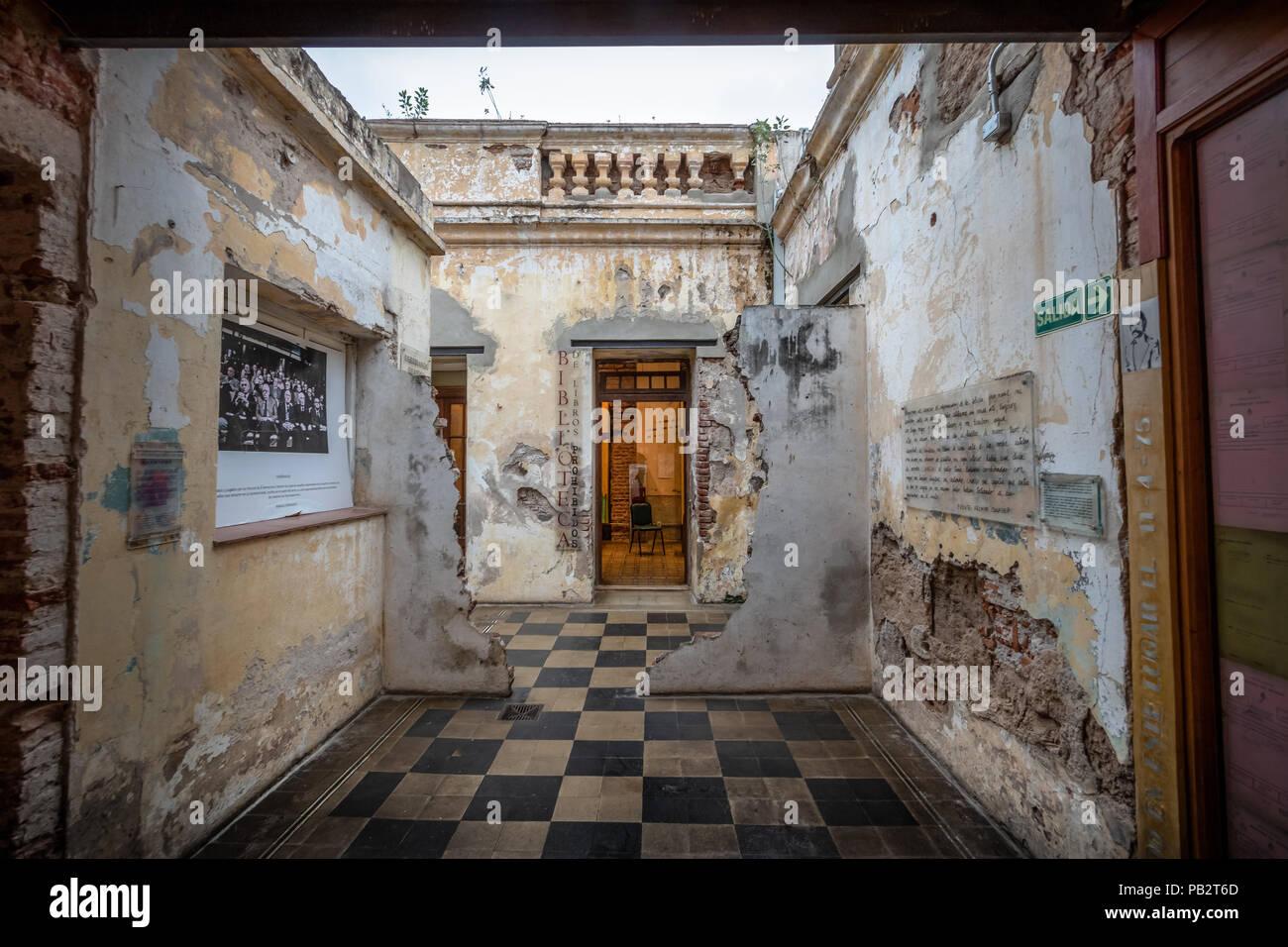 Museo de la Memoria (Museum of Memory) former detention and torture center - Cordoba, Argentina - Stock Image