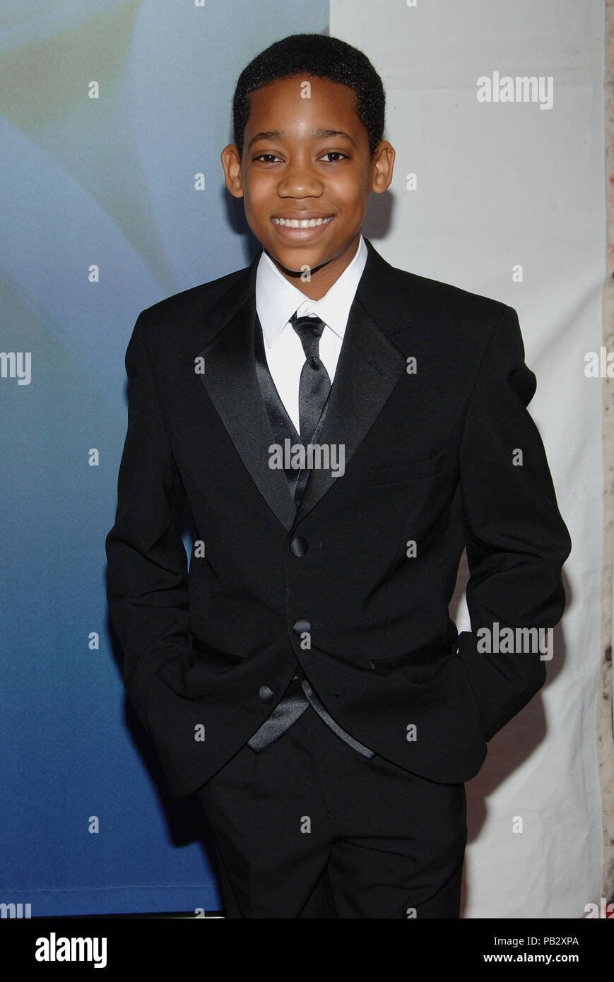 084b47462e0 Tyler James Williams arriving at the WRITER GUILD AWARDS at the Hollywood  Palladium in Los Angeles