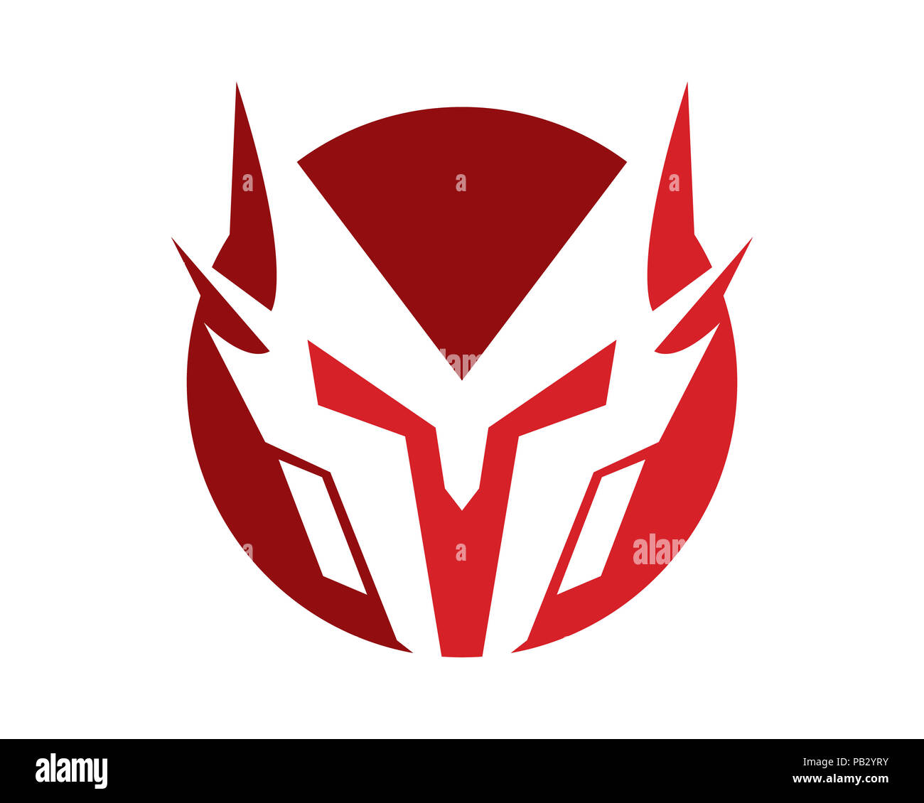 spartan helmet logo template vector icon stock photo 213351375 alamy