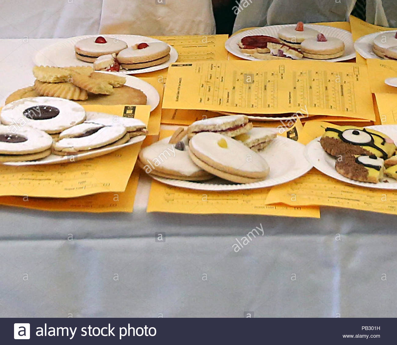 File Photo Dated 31/03/16 Of A Selection Of Cakes And Biscuits.