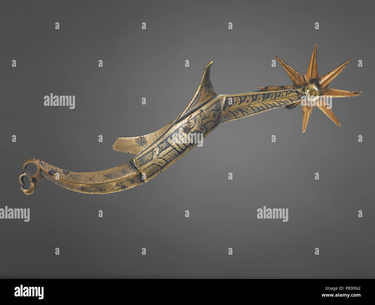 Rowel spur - Stock Image