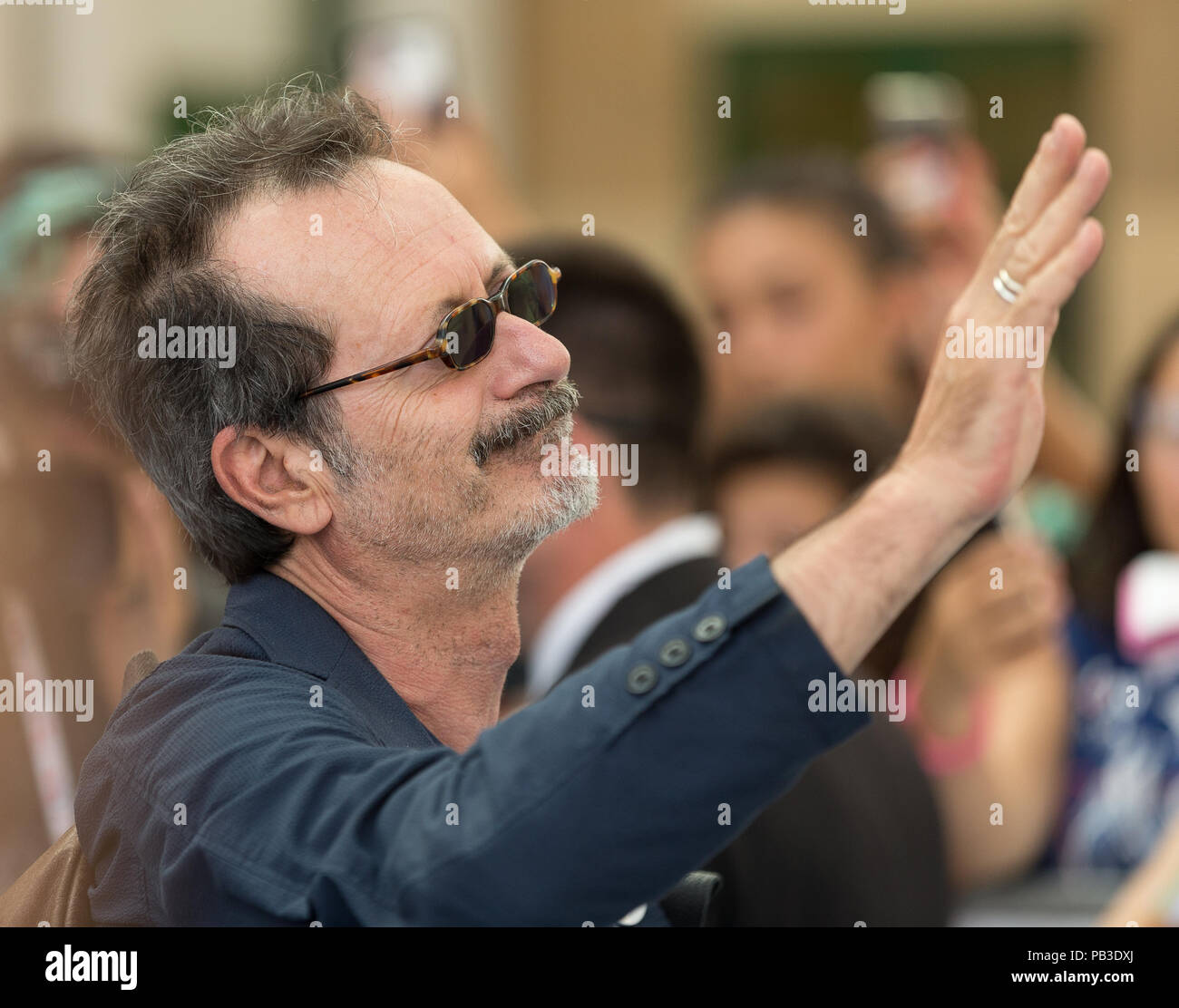 Italian actor stock photos italian actor stock images page 3 alamy salerno campania italy 26th july 2018 rocco papaleo italian actor m4hsunfo