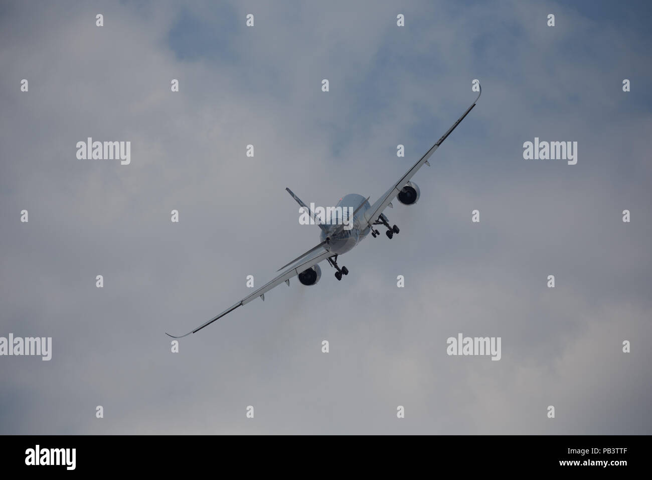 farnborough airshow 2018 - Stock Image