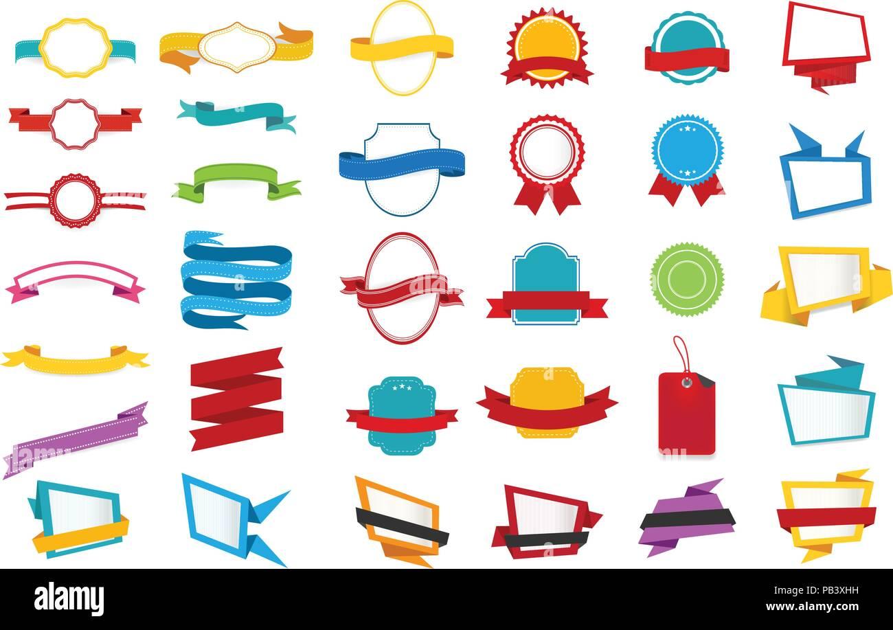 ribbons banners vector vectors stock photos ribbons banners vector
