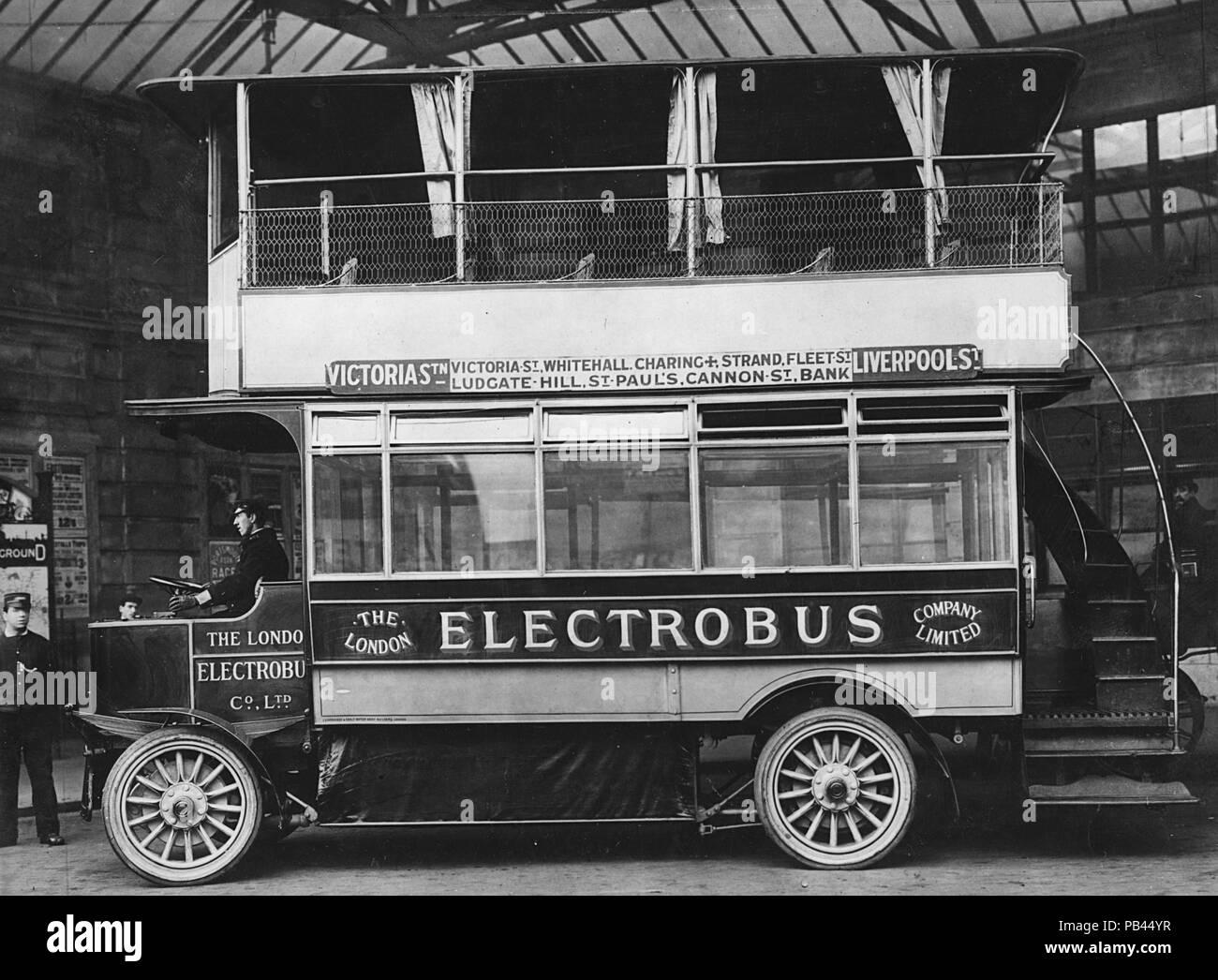 Electrobus 1909 - Stock Image