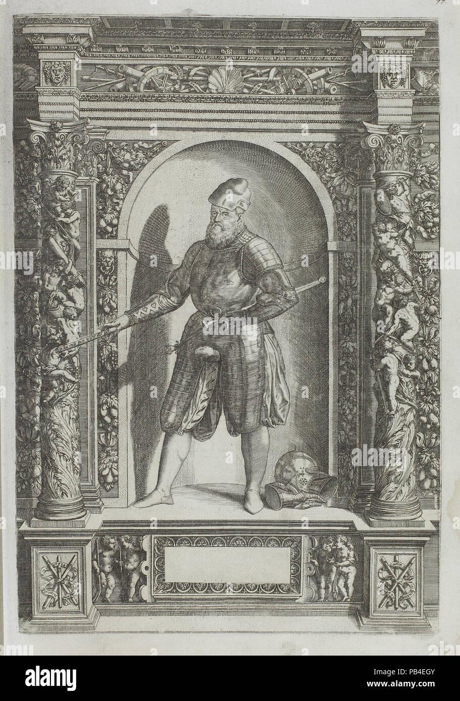 Plate 77 from Augustissimorium Imperatorum Regum - Stock Image