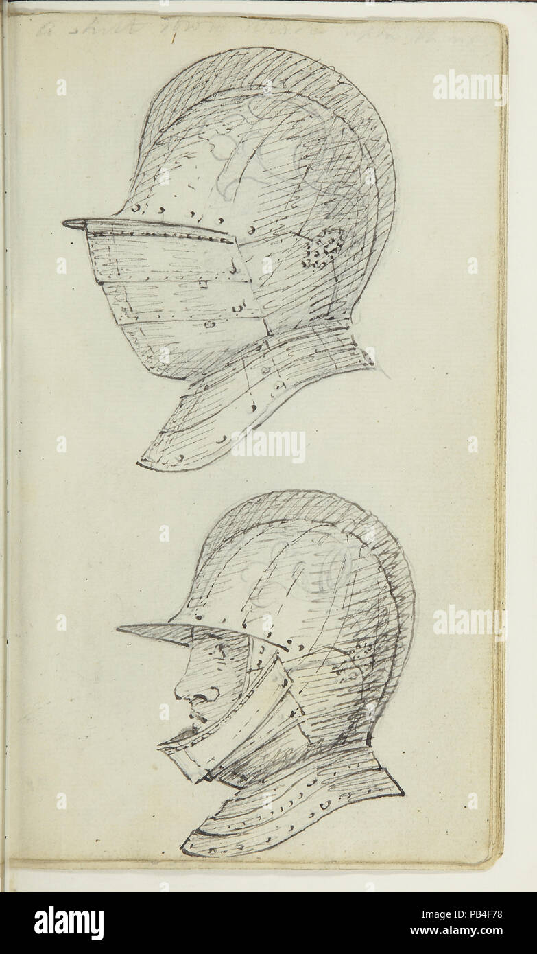 Catalogue of a most splendid and instructive collection of antient armour exhibiting at the Oplotheca - Stock Image