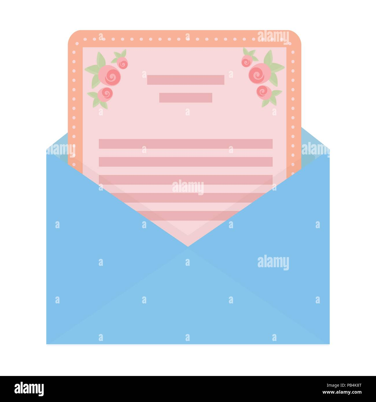 Envelope with invitation card icon in cartoon style isolated on envelope with invitation card icon in cartoon style isolated on white background event service symbol vector illustration stopboris Image collections