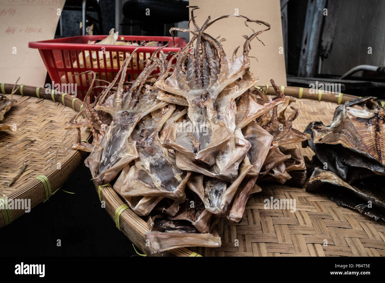 Dried Cuttlefish Stock Photos & Dried Cuttlefish Stock