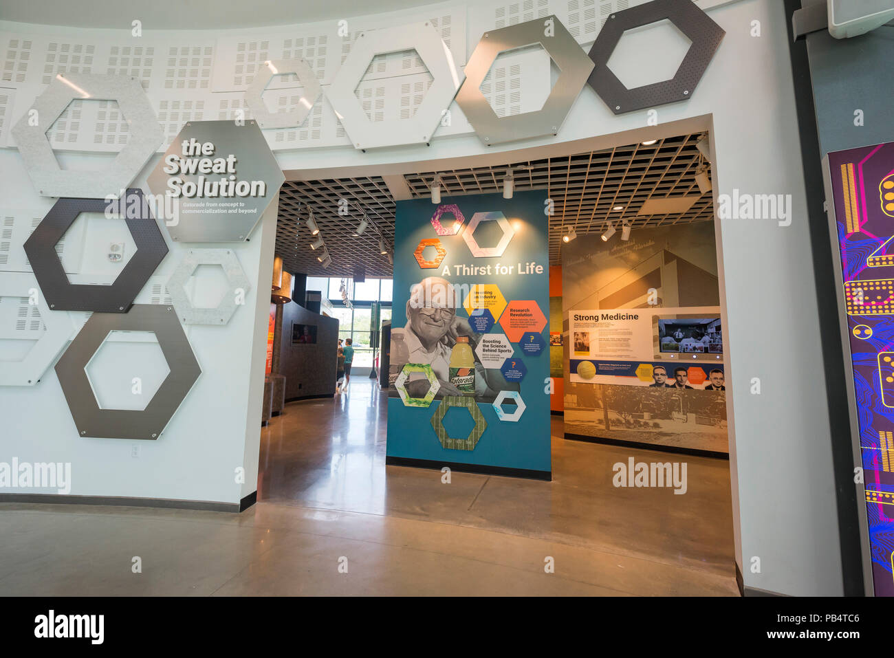 The Cade Museum of Creativity and Invention in Gainesville, Florida. - Stock Image