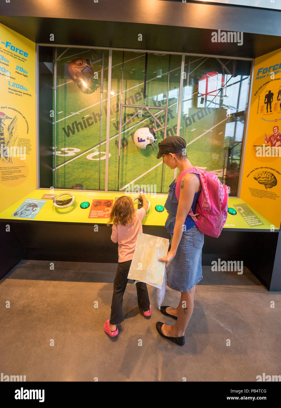 Creativity and Invention Museum in Gainesville, Florida. - Stock Image