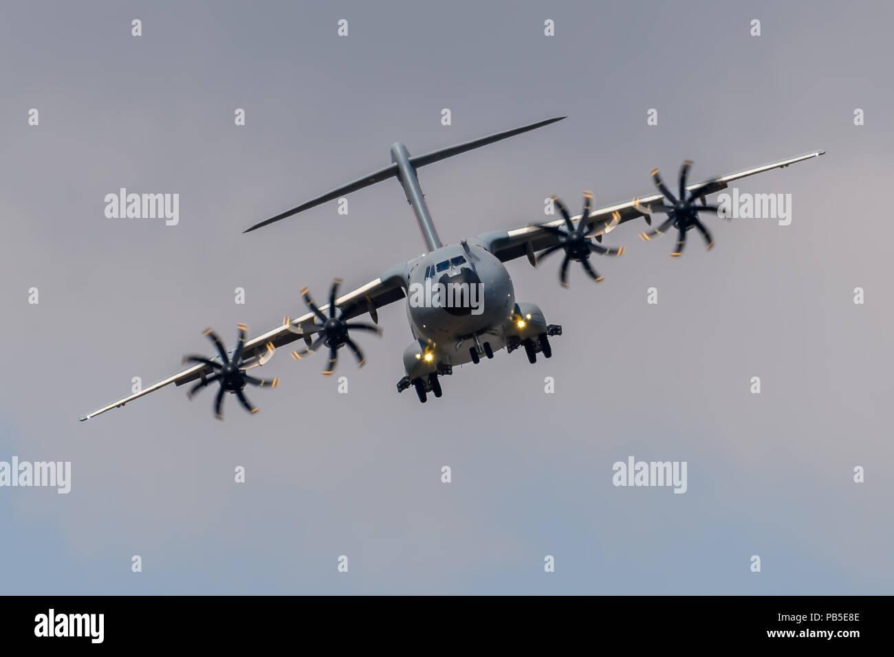 Airbus A400 Atlas transport aircraft - Stock Image