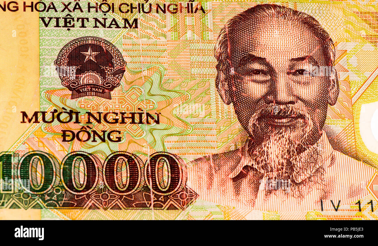 10000 Dong Bank Note Of Vietnam Dong Is The National Currency Of Vietnam Stock Photo Alamy