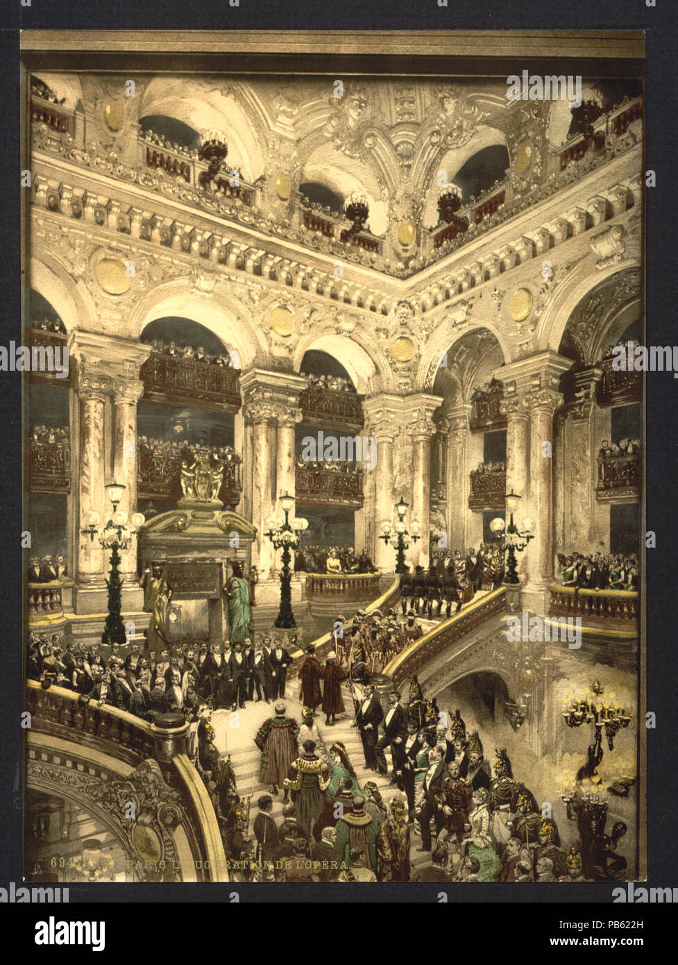 1663 The Opera House, the inauguration of the opera, Paris,  France-LCCN2001698523