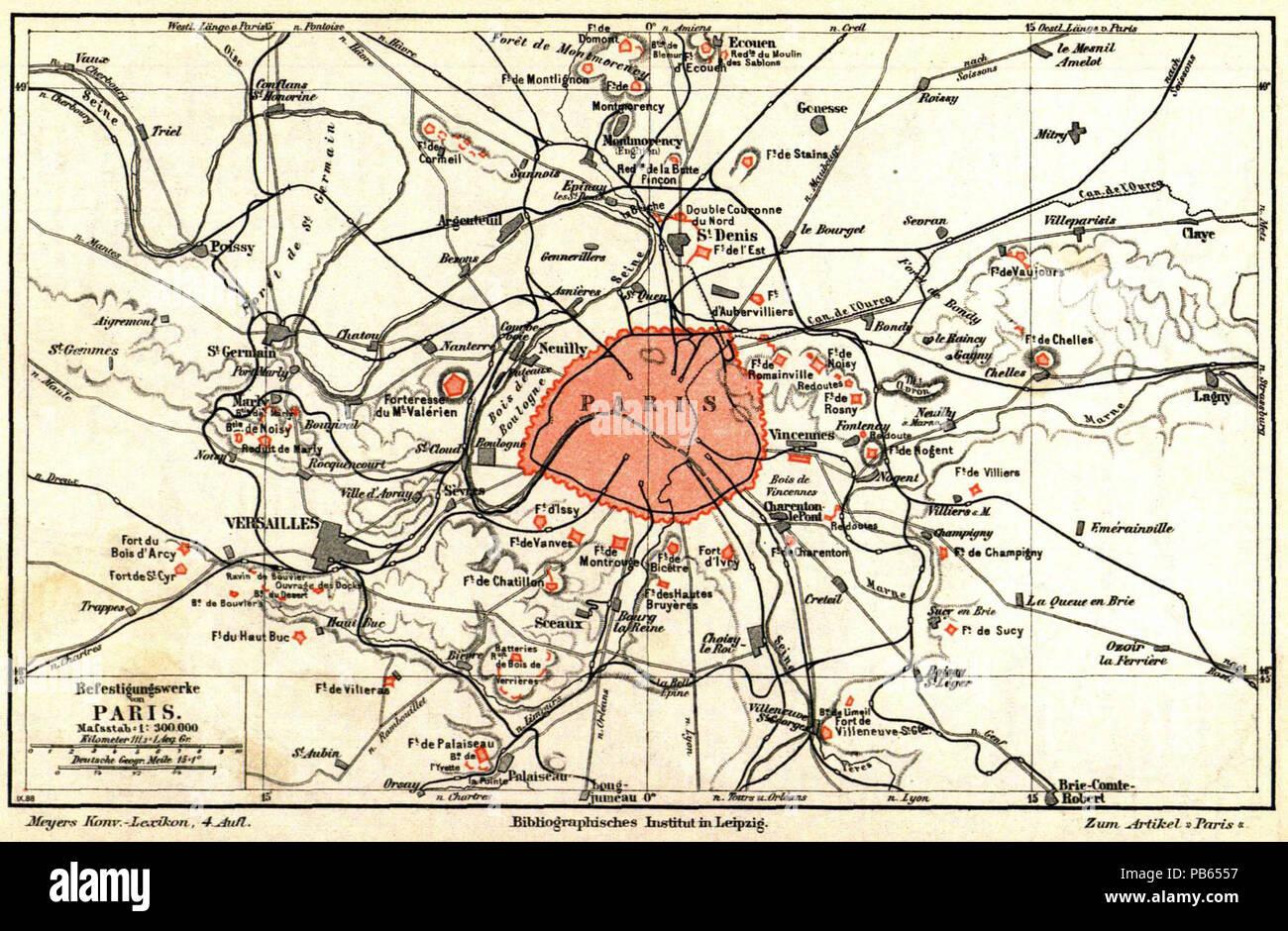 Karte Paris.Paris 1890 Karte Stock Photos Paris 1890 Karte Stock Images Alamy