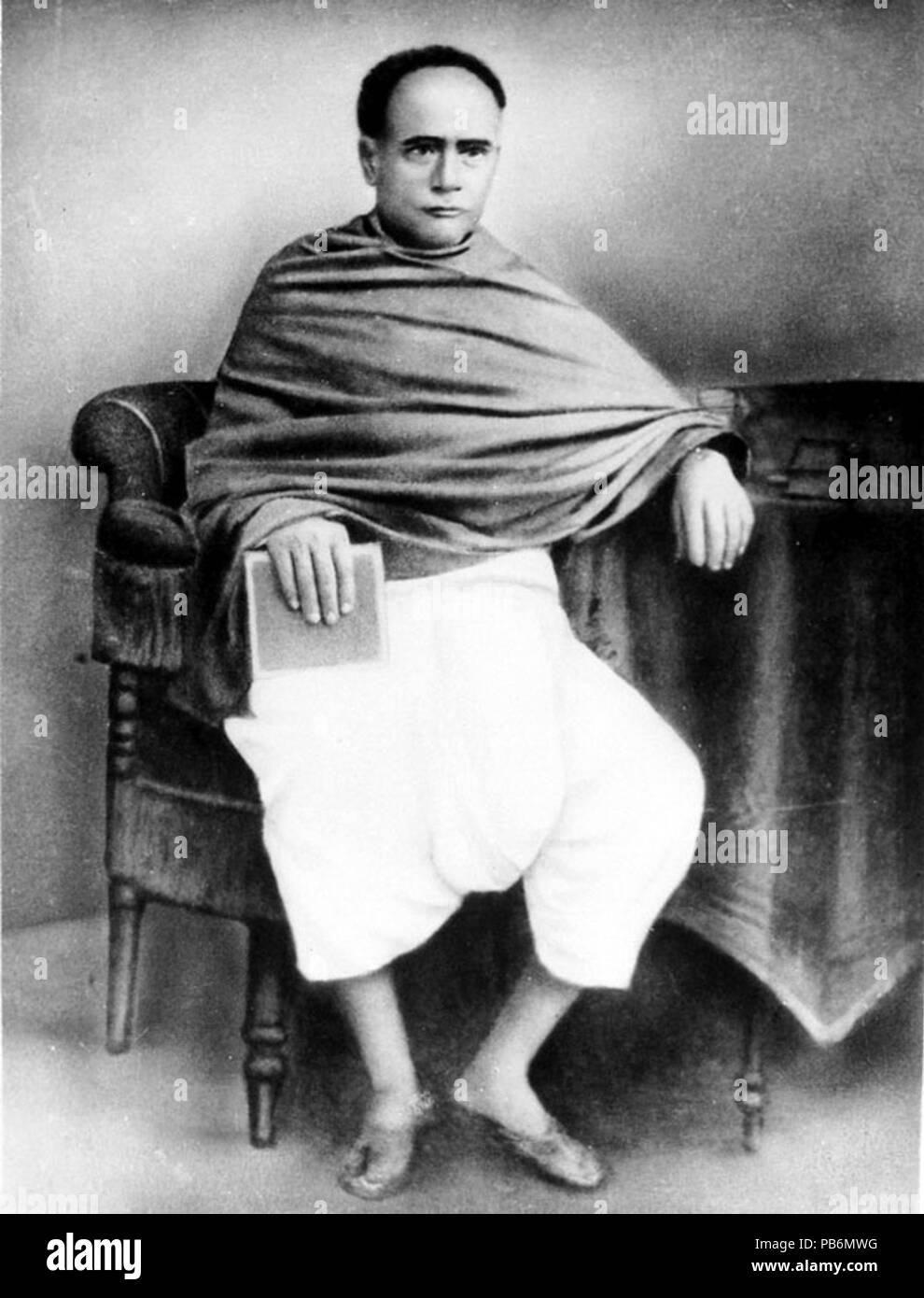 813 Ishwar Chandra Vidyasagar - Stock Image