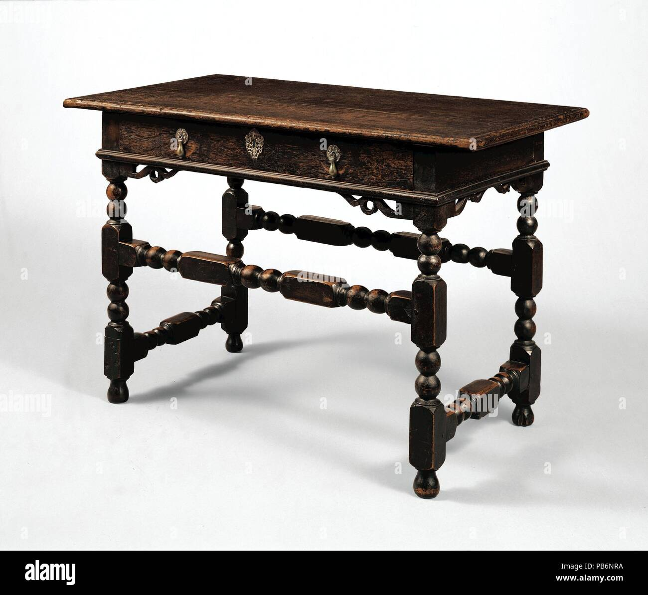 Joined Table With Drawer Culture American Dimensions 26 1 2 X 40