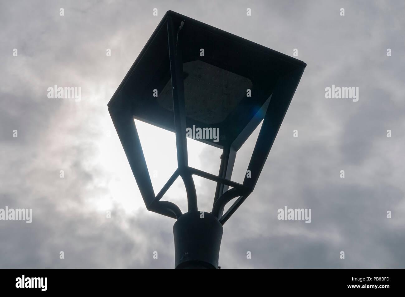 Old gas streetlamp - Stock Image