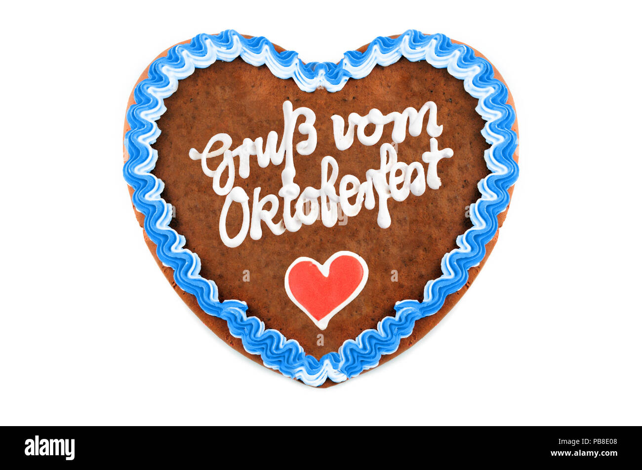 Oktoberfest gingerbread heart with german words greetings from oktoberfest gingerbread heart with german words greetings from oktoberfest on white isolated background m4hsunfo
