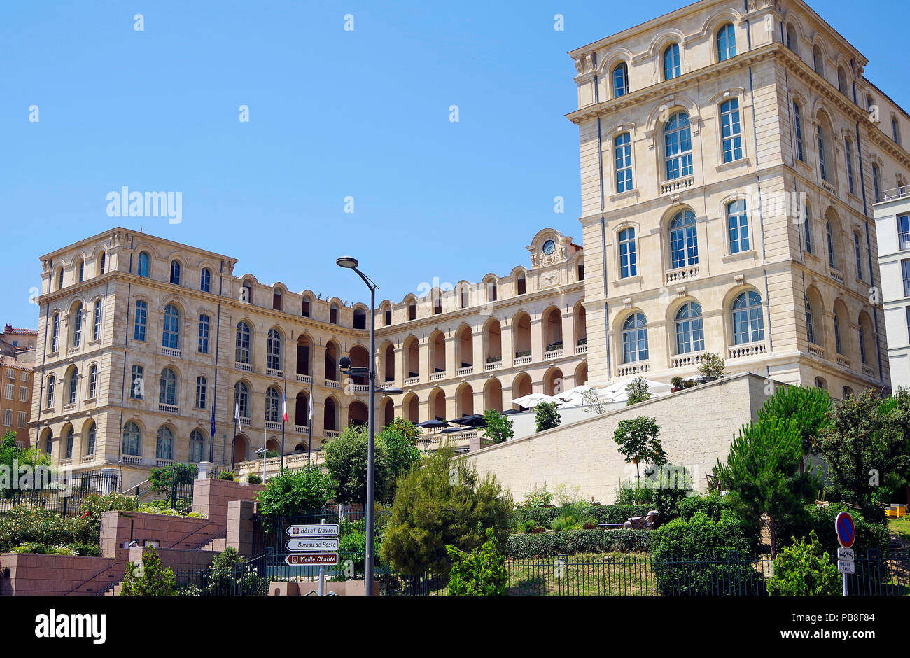 Marseille france the former hotel dieu now the intercontinental