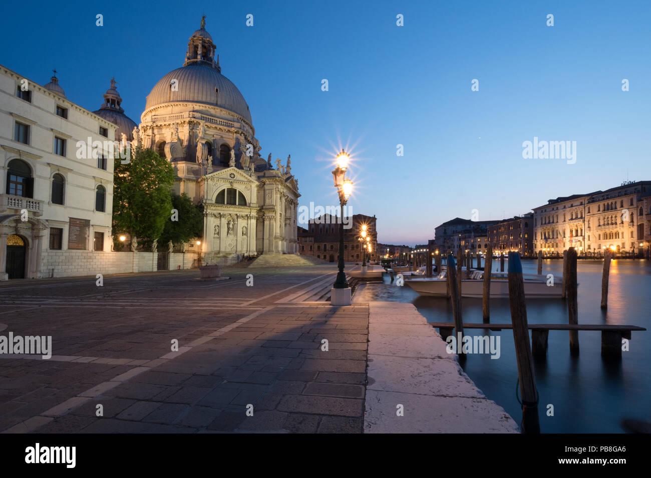 Fondamenta Salute, Dorsoduro, venice, Italy - Stock Image