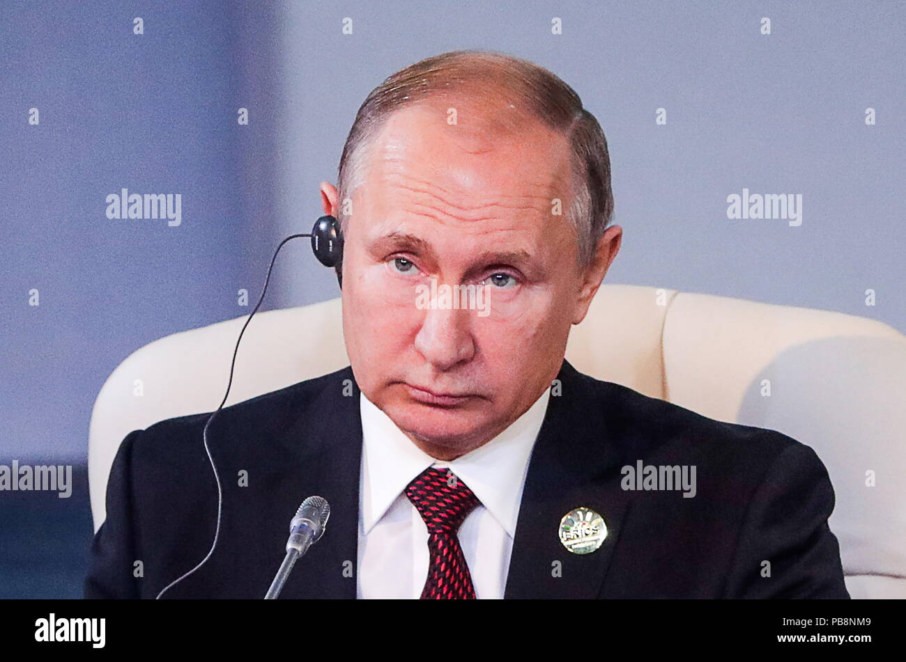 Vladimir Putin is coming to South Africa for the 2018 BRICS Summit