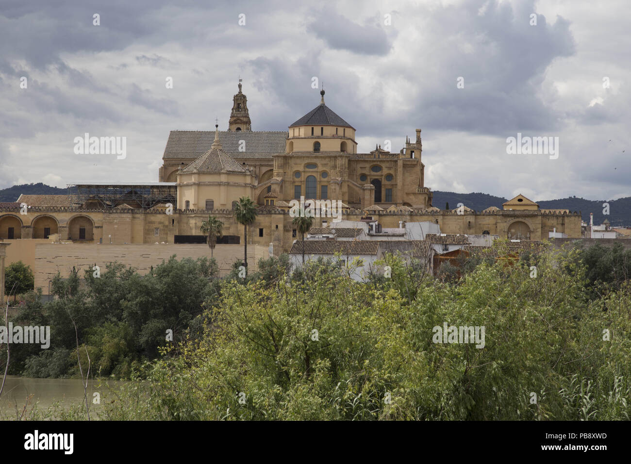 June 10, 2018 - CóRdoba, Spain - Mosque- Cathedral of Córdoba by day.Córdoba was the capital of the Later Hispania in the times of the Roman Republic, or of the Bética province during the Roman Empire and the Caliphate of Córdoba during the Muslim era. Credit: Lito Lizana/SOPA Images/ZUMA Wire/Alamy Live News Stock Photo